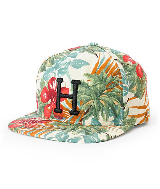 HUF Blossom Classic H Snapback Hat