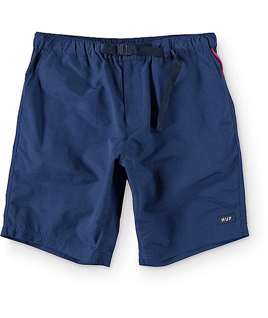 HUF Boulder Navy Hybrid Board Shorts