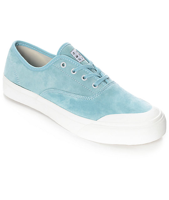 HUF Cromer Aqua & White Skate Shoes