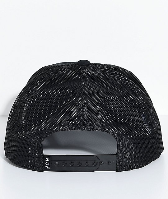 HUF Eagle Black Trucker Hat
