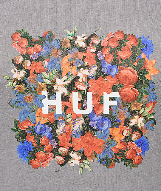 HUF Flor Box Logo T-Shirt