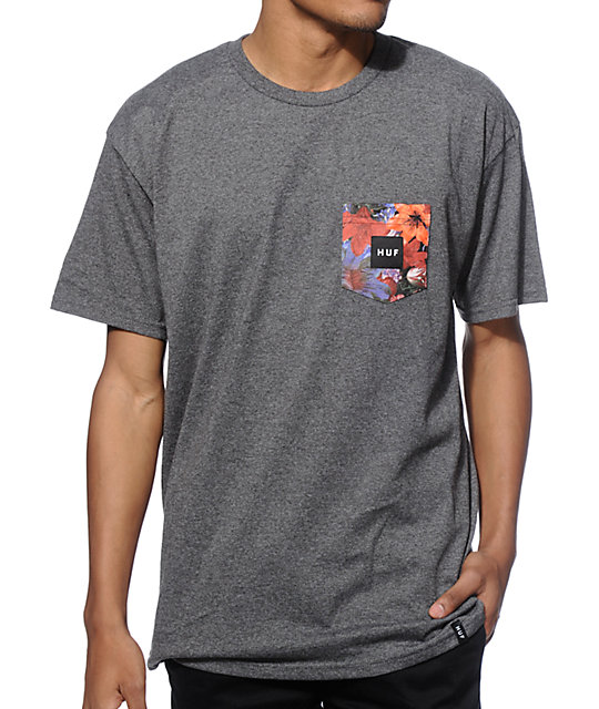 Pocket Tees for Men You may not use that pocket but we all know pockets add a little something to your t-shirt. tillys selection of pocket tees include tie-dye, stripes, graphics and solids. Shop mens henleys with pockets or choose from brands like Adidas, Grizzly, RSQ and O'Neill.