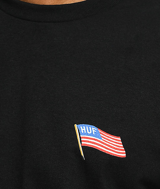 HUF Fuck It Eagle Black T-Shirt