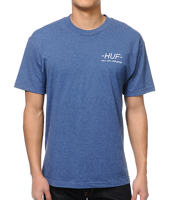 HUF Get Screwed Blue T-Shirt