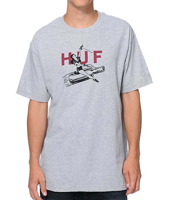 HUF Joyride Heather Grey T-Shirt