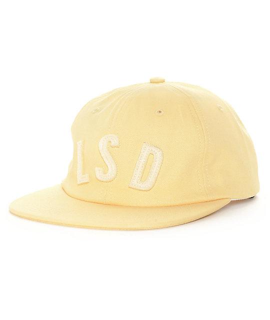 HUF Life S.D. Maize Strapback Hat
