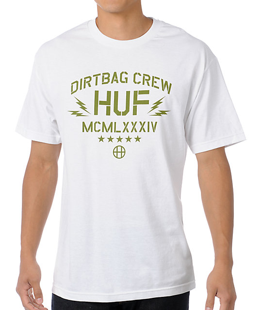 HUF Operation DBC White T-Shirt