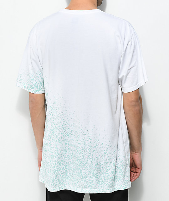 HUF Overspray Triangle White T-Shirt