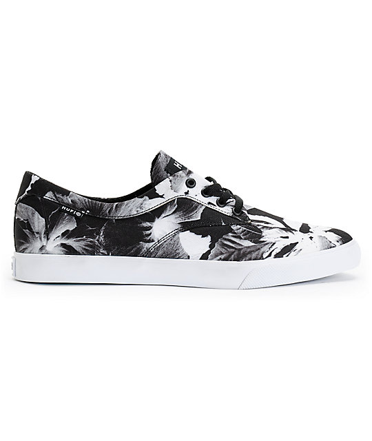 HUF Sutter Black Floral Shoes