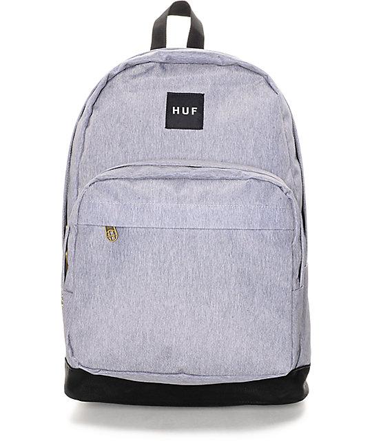 HUF Utility Heather Grey Backpack