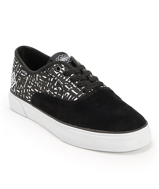 HUF x Haze Mateo Black Shoes