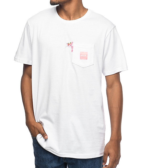x Pink Panther White Pocket T-Shirt