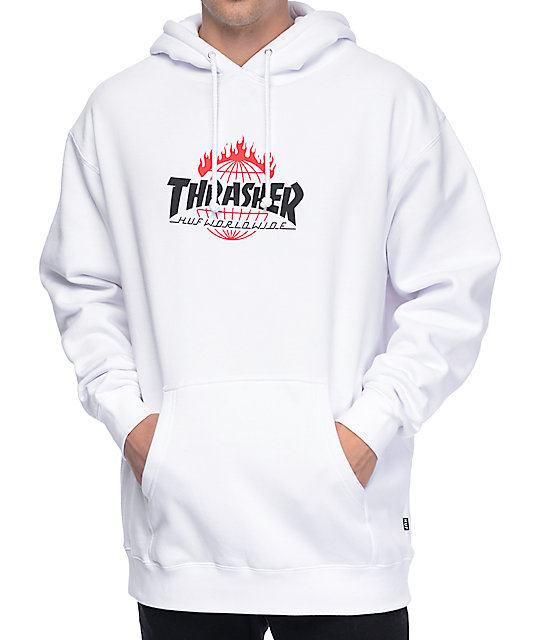 x thrasher tds hoodie gr e m farbe black pro. Black Bedroom Furniture Sets. Home Design Ideas