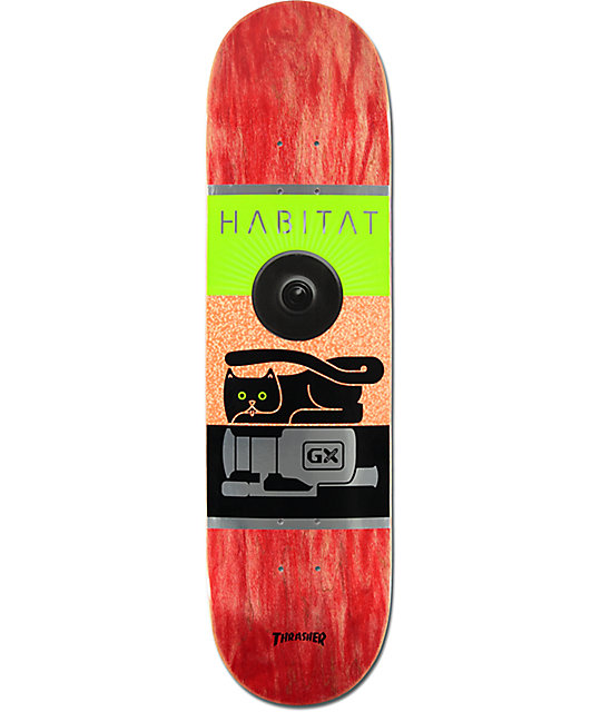 "Habitat GX1000 LARGE 8.25""  Skateboard Deck"