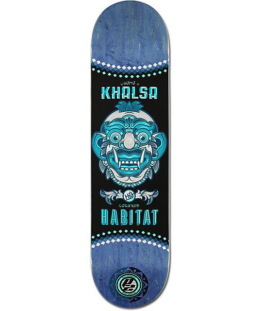 """Habitat Gillette P2 Bali Mask 8.25""""  Skateboard Deck"""