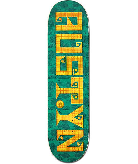 "Habitat Gillette Textstyle 8.0""  Skateboard Deck"