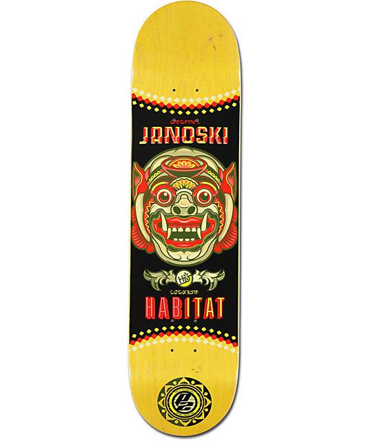 """Habitat Janoski Bali P2 7.75""""  Skateboard Deck"""