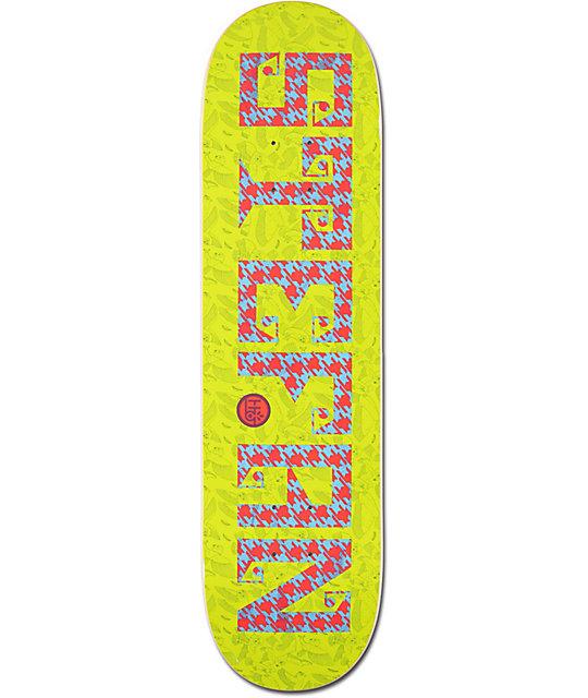 "Habitat Janoski Textstyle 8.25""  Skateboard Deck"