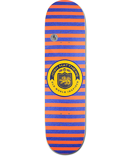 """Habitat Josh Matthews Classic Stripes 8.25"""" Skateboard Deck"""