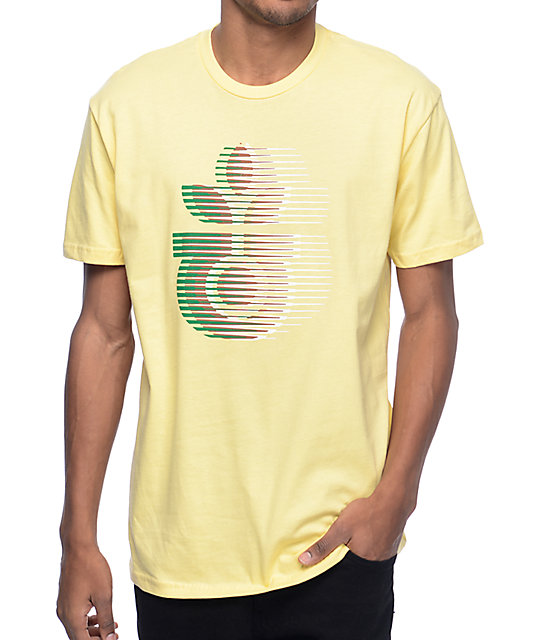 Habitat Leaf Motion Yellow T-Shirt
