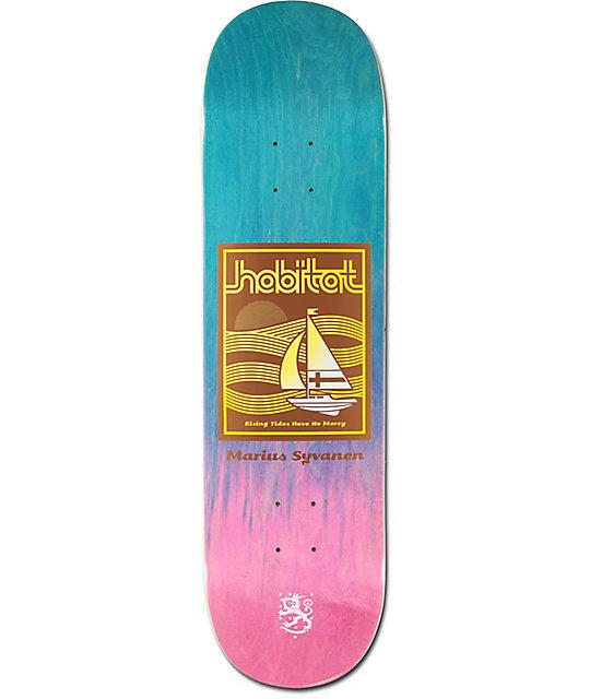 "Habitat Marius Rising Tides 8.37"" Skateboard Deck"