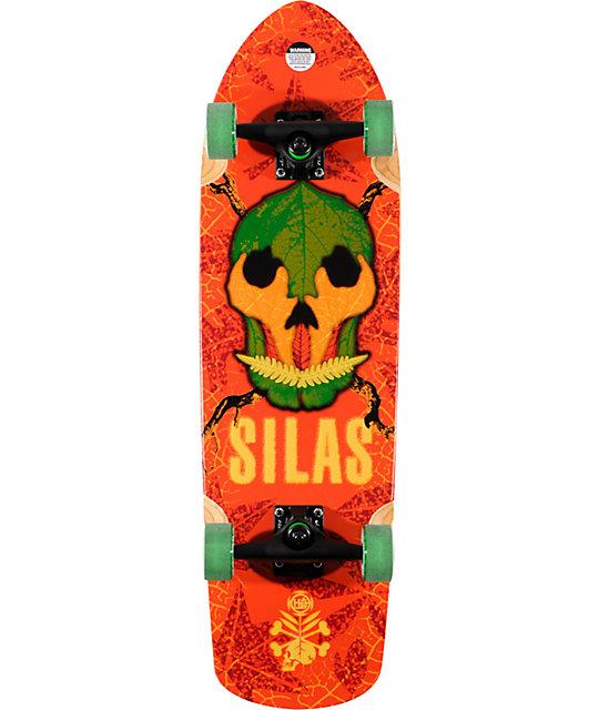 "Habitat Silas Skull Season 30.5""  Cruiser Complete Skateboard"