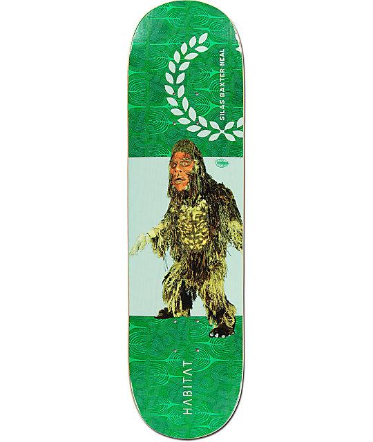 "Habitat Silas Squallies 8.375""  Skateboard Deck"