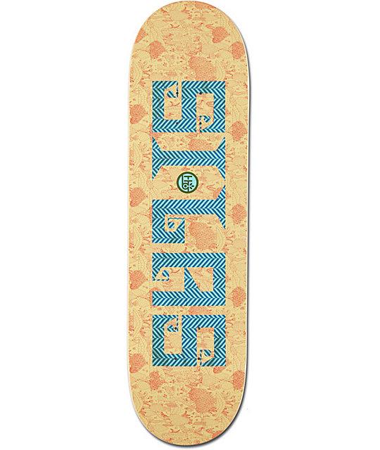 "Habitat Silas Textstyle 8.37""  Skateboard Deck"