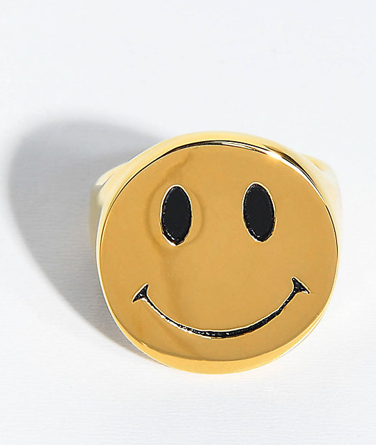 Han Cholo Smile Now Gold Ring