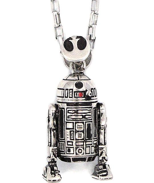 Han Cholo x Star Wars R2D2 Pendant Necklace