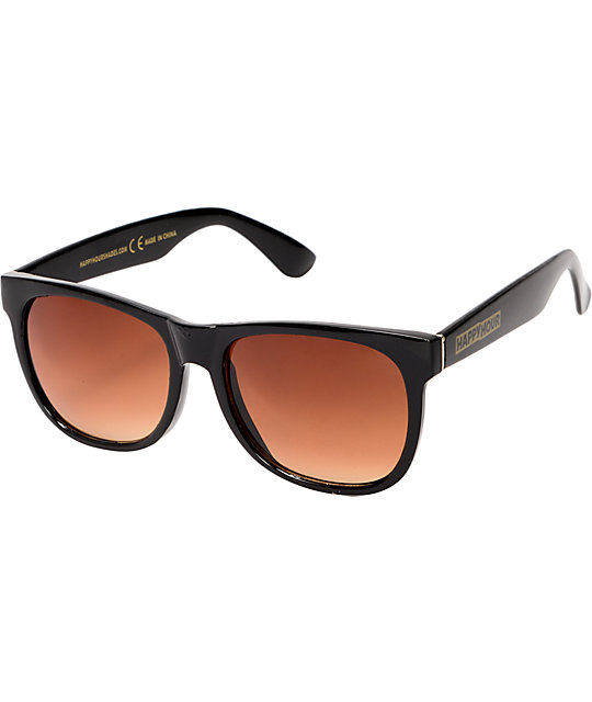 Happy Hour Real Swag Gloss Black Sunglasses