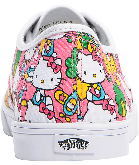 Hello Kitty Vans Authentic Lo Pro Pink Shoes