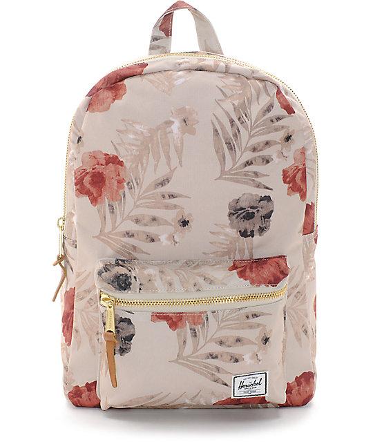 Herschel Settlement Pelican Floral Khaki 17L Backpack