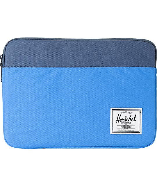 Herschel Supply Anchor Blue 13 Laptop Sleeve