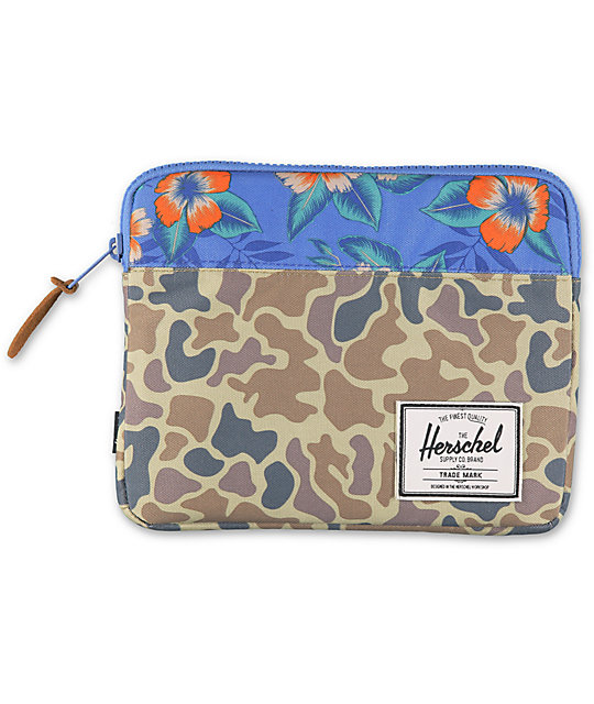 Herschel Supply Anchor Camo iPad Air Sleeve