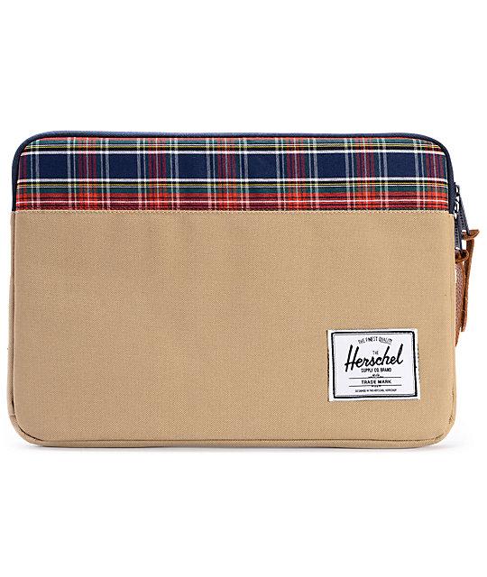 Herschel Supply Anchor Khaki 13 Laptop Sleeve