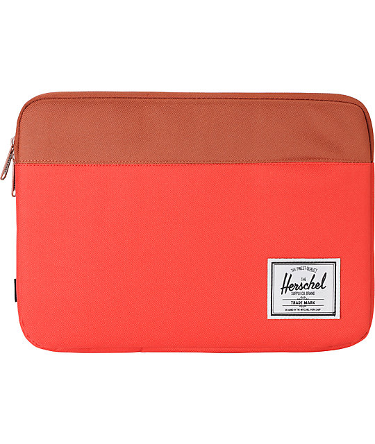 Herschel Supply Anchor Red 13 Laptop Sleeve