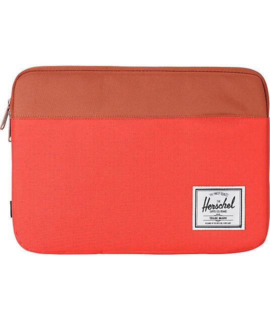 Herschel Supply Anchor Red 13 Laptop Sleeve