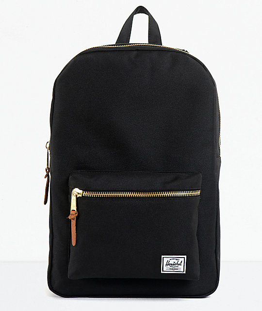 herschel supply black settlement 20l backpack at zumiez pdp. Black Bedroom Furniture Sets. Home Design Ideas
