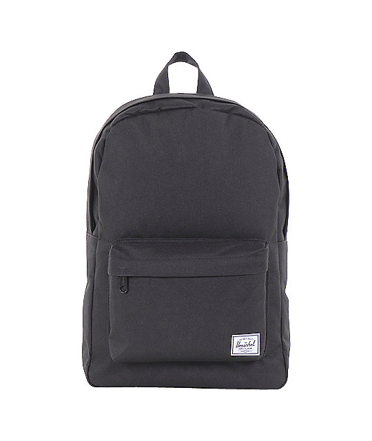 Herschel Supply Classic Black Backpack