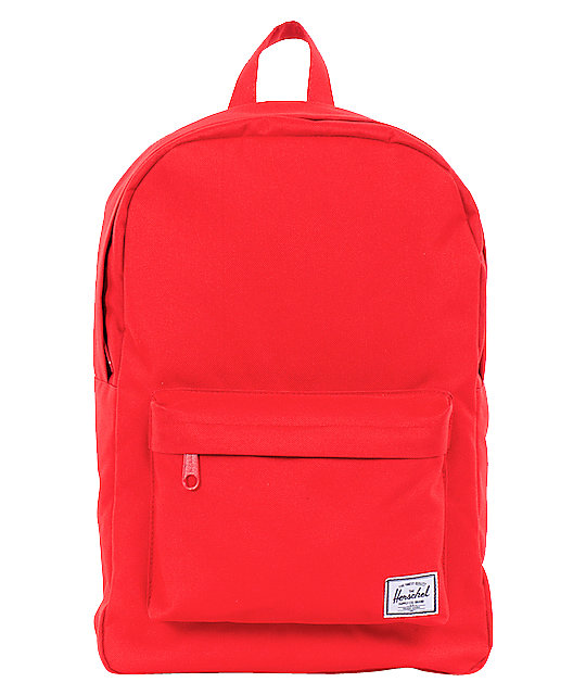 Herschel Supply Classic Red 20L Backpack