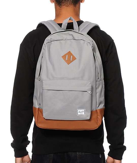 Herschel Supply Co Heritage Grey 21L Backpack