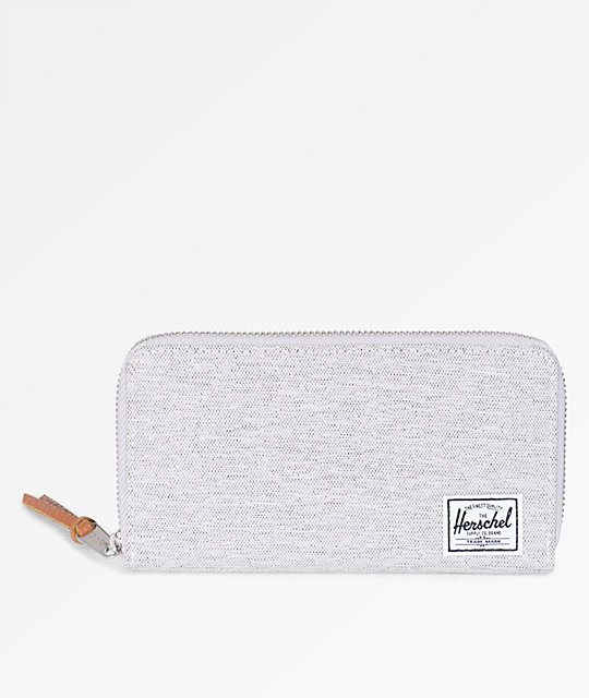 Herschel Supply Co Thomas Light Grey Crosshatch Wallet