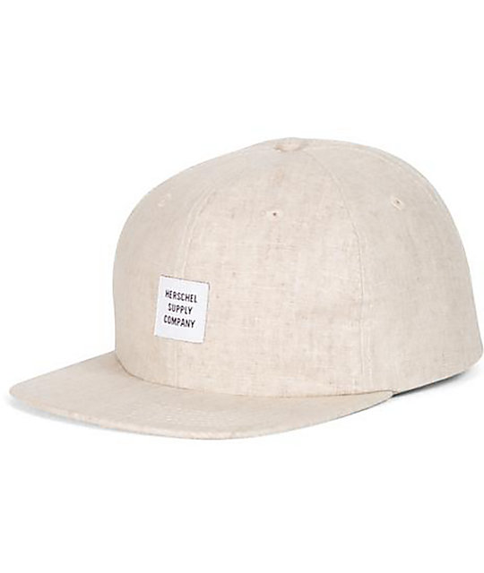 Herschel Supply Co. Albert Hemp 6 Panel Strapback Hat
