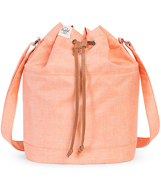 Herschel Supply Co. Carlow Nectarine Cross Hatch 9L Bag