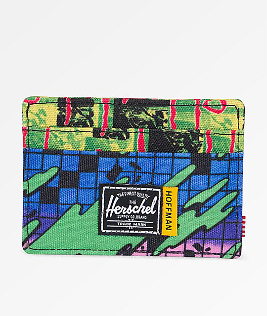 Herschel Supply Co. Charlie Check Surf Cardholder Wallet by Herschel Supply