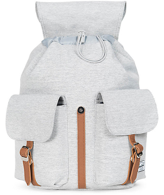Herschel Supply Co. Dawson Light Grey Crosshatch 13L Backpack