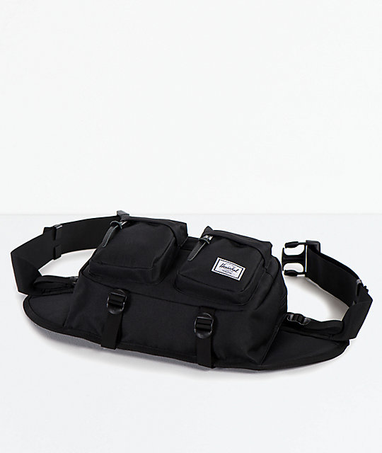 Herschel Supply Co. Eighteen Black Fanny Pack