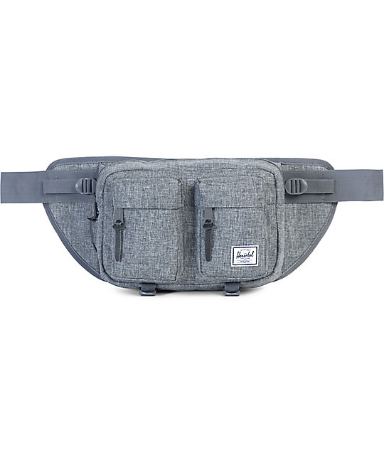 Herschel Supply Co. Eighteen Raven Crosshatch Fanny Pack