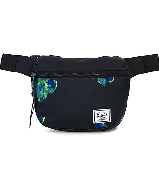 Herschel Supply Co. Fifteen Neon Floral Fanny Pack
